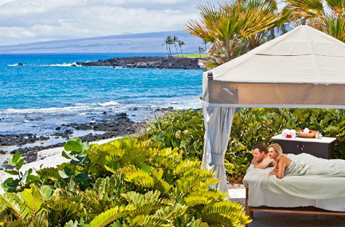 Kohala Spa Couples Seaside Cabana Massage