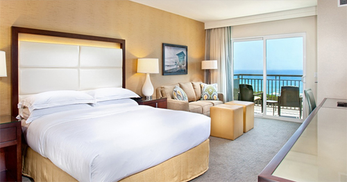 Our King Oceanview Room with Balcony