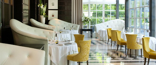 Dining at Gordon Ramsay au Trianon