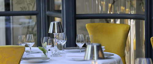 Dining at the Chef's Table at Gordon Ramsay au Trianon