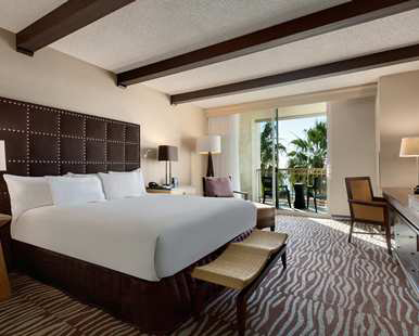 Our California Suite with Villa Garden View