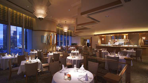 Dining Credit at Conrad Hong Kong's Restaurants
