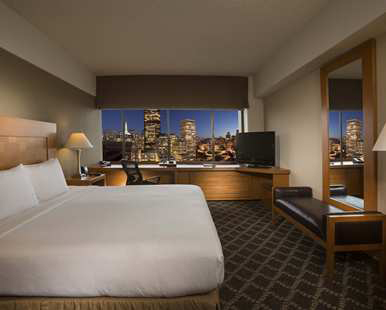 Our One King Premium Floor City View Room