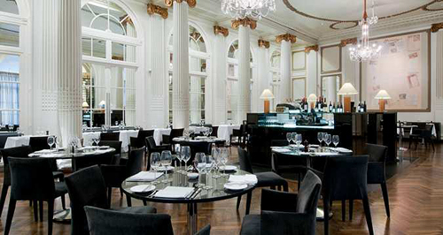 Dining at Homage Grand Salon