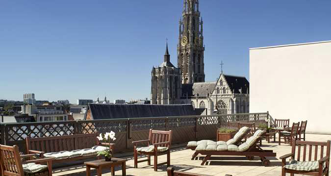 Trip Contribution to Hilton Antwerp Old Town