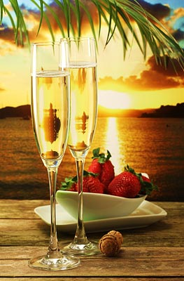 Sunset Champagne Package